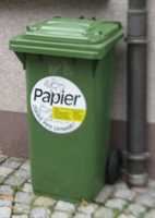 Altpapier-Recycling
